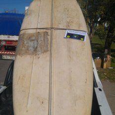 Era robada. La canoa fue denunciada como sustraída, y el dueño la ubicó.