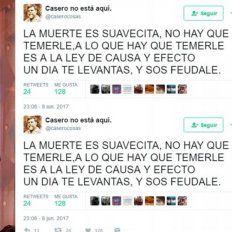 Marcela Feudale contestó al tuit de Alfredo Casero