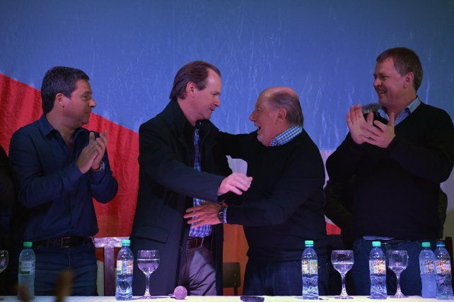 Busti se sumó al frente político que propone Bordet de cara a las elecciones de medio término