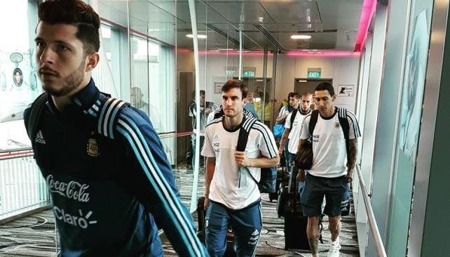 La Selección ya se entrena en Singapur