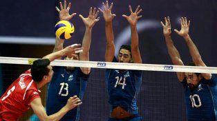 Irán derrotó a Argentina en tie-break