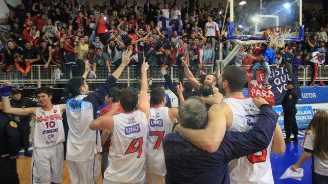 Olimpia ascendió al torneo Federal. Foto UNO Juan Ignacio Pereira