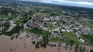 Más de 3.200 evacuados en Entre Ríos y otras dos provincias en alerta por las inundaciones