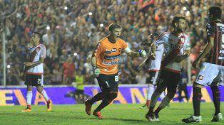 Bértoli también marca goles importantes. Foto UNO Archivo Juan Ignacio Pereira.