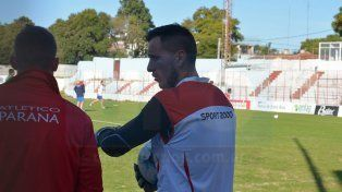 Pablo Migliore será el arquero titular en la nueva etapa de Cervilla al mando del Decano. Foto UNO/ Juan Manuel Hernández