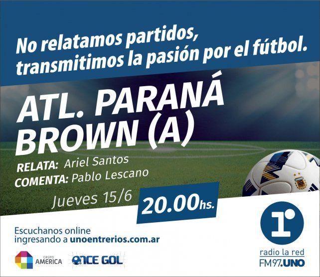 Edgardo Cervilla está entrenando al plantel de Atlético Paraná con el objetivo de salvar la categoría