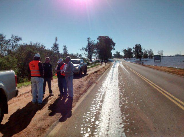 Aseguran que el río Uruguay comenzó a descender.
