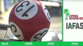 La venganza del número 13: salió a la cabeza en la lotería de Entre Ríos