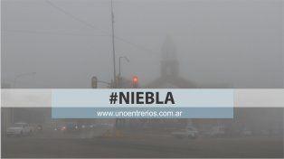 Rutas entrerrianas: Por neblina y bancos de niebla recomiendan transitar con precaución