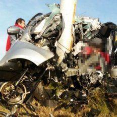 Se conoció la identidad de la mujer fallecida en el accidente de la Autovía 14