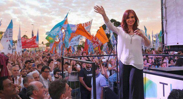 Cristina presentó en la Justicia su nuevo sello electoral: Alianza Unidad Ciudadana