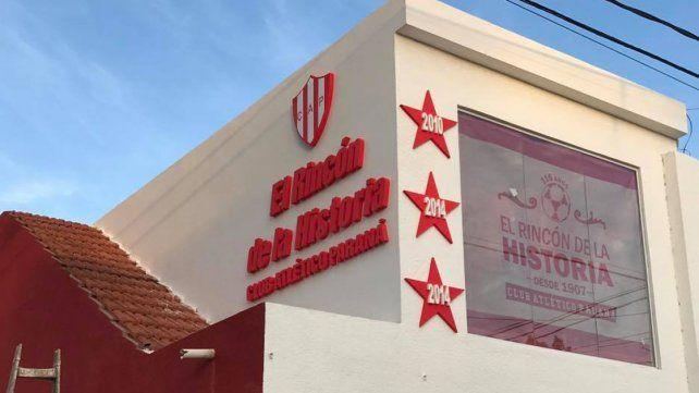 El Museo de Atlético Paraná va tomando forma y se inaugurará este viernes