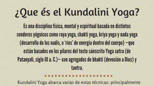 Kundalini: el yoga para expandir la consciencia