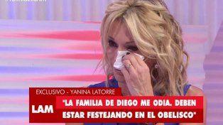 La familia de Diego Latorre le decía a Yanina que era una puta