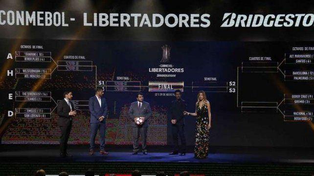River y San Lorenzo serán visitantes de Guaraní y Emelec en los octavos de la Libertadores
