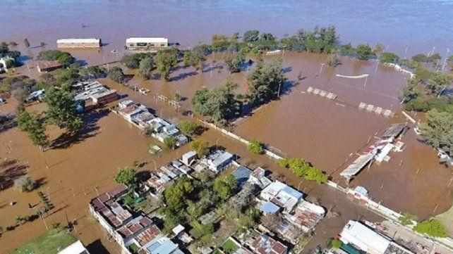 El río en Concordia inició su descenso