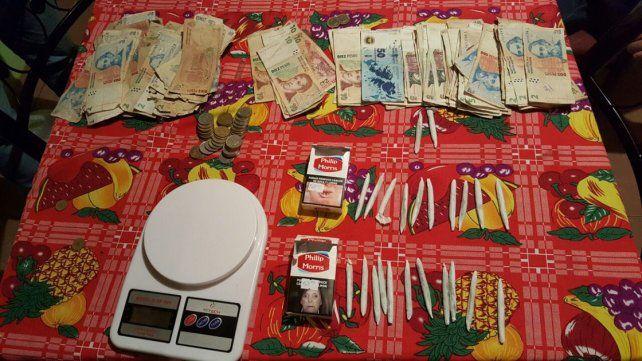 Dos mujeres fueron detenidas por vender droga en sus casas