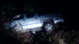 Una camioneta volcó en el Parque Nuevo y cuatro jóvenes resultaron lesionados