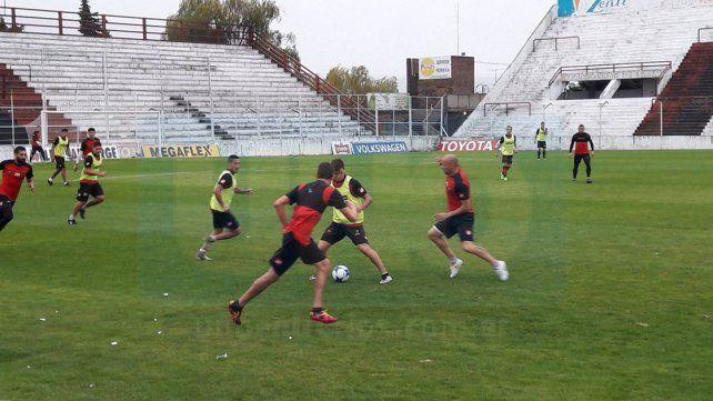 Patrón desarrolló un ensayo ayer en el estadio. Hoy trabajará desde las 10 en Capillita.