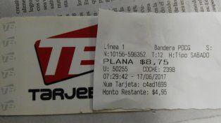 Rige el aumento del boleto de colectivo en Paraná