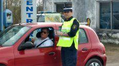 El oficial Matías Blanco trabaja en la Dirección de Prevención y Seguridad Vial, y está a cargo del puesto caminero de la Policía cercano a Brazo Largo-Zárate.