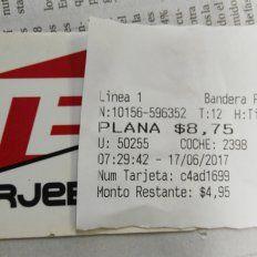 Este sábado comenzó a regir el aumento del boleto de colectivo en Paraná