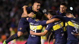 Boca goleó a Aldosivi en Mar del Plata y se acerca al título