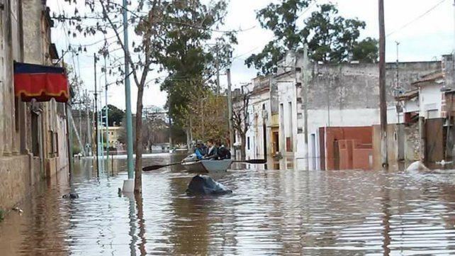 Pérdidas. Asistir a los damnificados por la creciente demanda una fuerte inversión de los municipios.