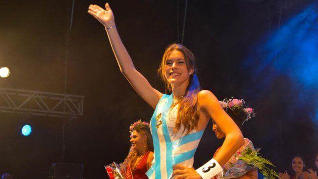 Luján Busatto, la reina que enaltece a La Paz