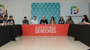 Encuentro. Asistieron Pablo Donadío y Cristina Ponce.