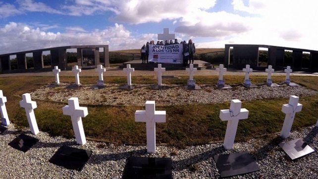 Comienza la identificación de los soldados no identificados enterrados en Malvinas