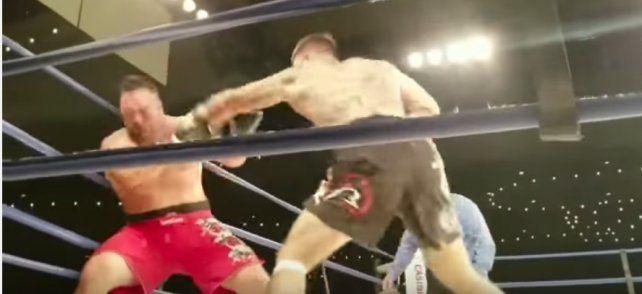 Un boxeador sufrió muerte cerebral tras un terrible knockout