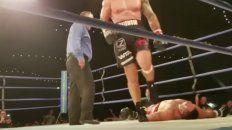 un boxeador sufrio muerte cerebral tras un terrible knockout