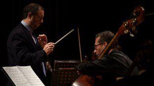 Invitados. El compositor dirigirá a la orquesta y Sergio Rivas será el solista de contrabajo.