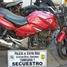 Recuperada. Con mucho trabajo, fue localizada la moto robada.