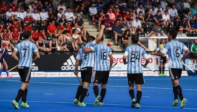 Los Leones golearon a China por la Liga Mundial