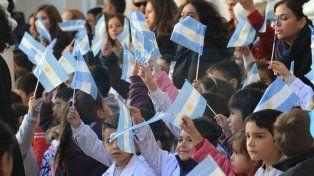 Promesa de lealtad, por el Día de la bandera