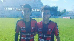 Lucio Comas y Gabriel Schvindt anotaron los goles Rojinegros.