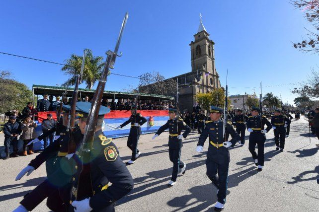 En Cerrito Bordet resaltó la abnegación, la austeridad y la humildad de Belgrano