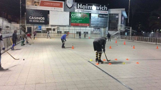 Escuela de Hockey sobre Patines para Adultos