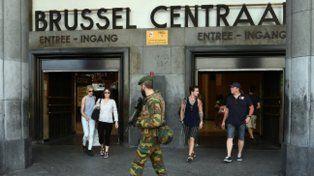 Cuatro detenidos por el ataque a una estación de Bruselas