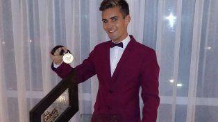El joven ya había ganado medallas en un certamen en Panamá