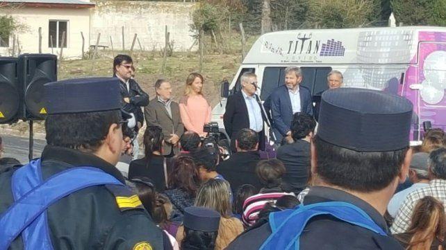 El intendente de Victoria resaltó el trabajo que realizó la Municipalidad.Foto gentileza Mario Chesini.