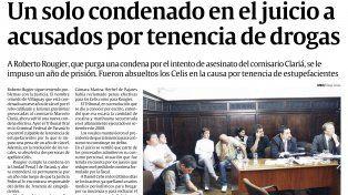 La banda narco que lidera Cabeza de Fierro fue derecho al penal