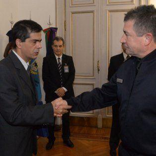 Buen trabajo. Roncaglia valoró los resultados de los policías de Paraná.