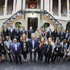 Frigerio en la XXVI Asamblea de Ministros y Autoridades Máximas en Vivienda y Desarrollo Urbano de Latinoamérica y el Caribe (Minurvi). Foto Télam.