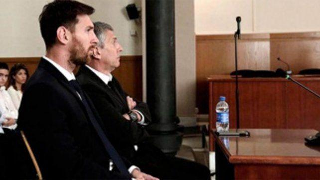 Aceptaron sustituir por una multa la condena de 21 meses de prisión para Messi