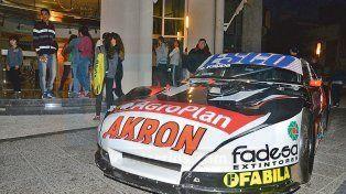 El auto de Guillermo Ortelli estuvo afuera del hotel Maran.