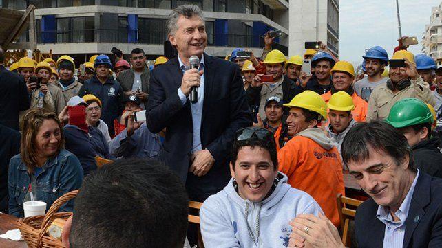 Si cada argentino hace lo mejor que puede el país va a crecer, afirmó Macri