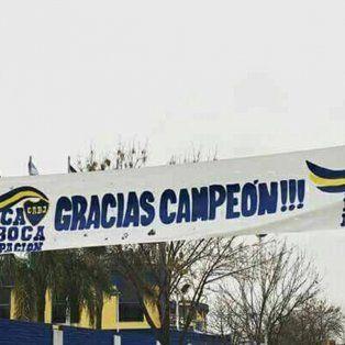Los fanáticos de Boca se preparan para festejar a lo grande en La Bombonera